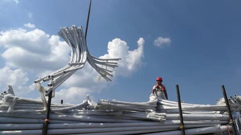 湖南怀化吉首12米双臂市电雷火app下载官方版是高杆灯还是中杆灯